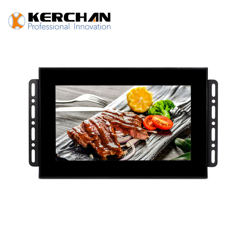1024 × 600 Resolution Retail LCD Screens 75*75VESA Wall Mount Type